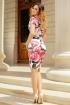 Rochie MBG midi cu imprimeu floral