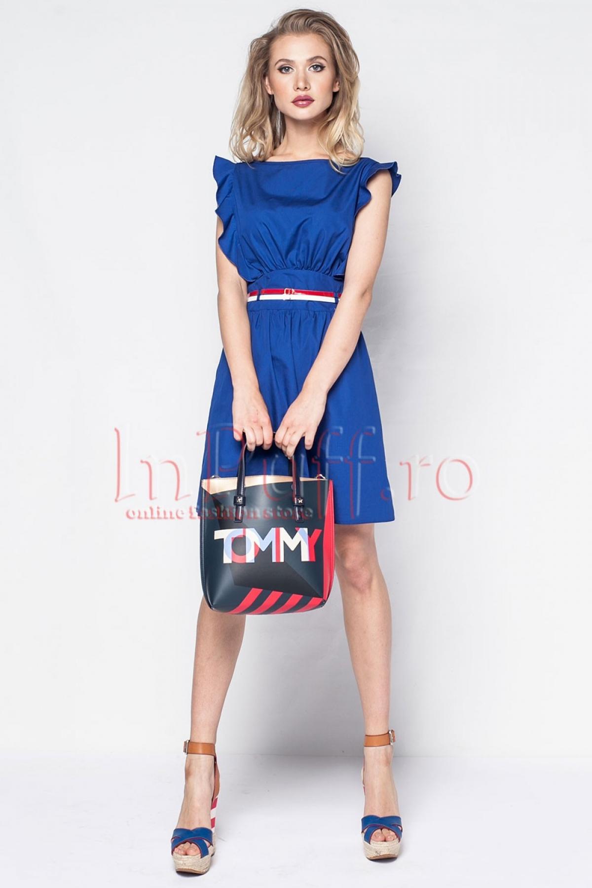 Rochie Pretty Girl eleganta albastra