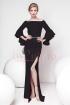 Rochie Pretty Girl eleganta de seara neagra