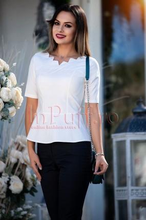 Bluza Pretty Girl alba