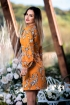 Rochie din stofa cu imprimeu floral