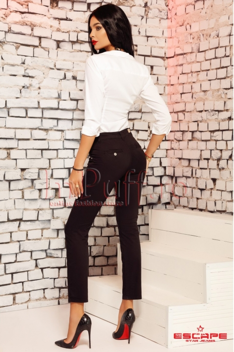 Pantaloni Sanko negri de dama