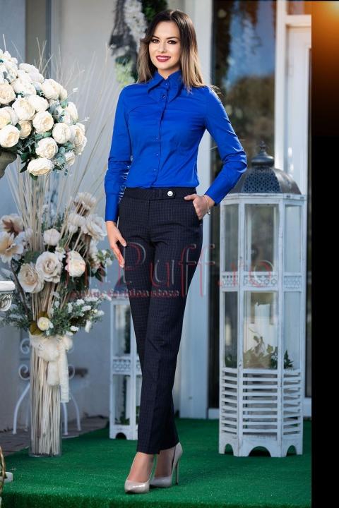 Pantaloni de dama office conici
