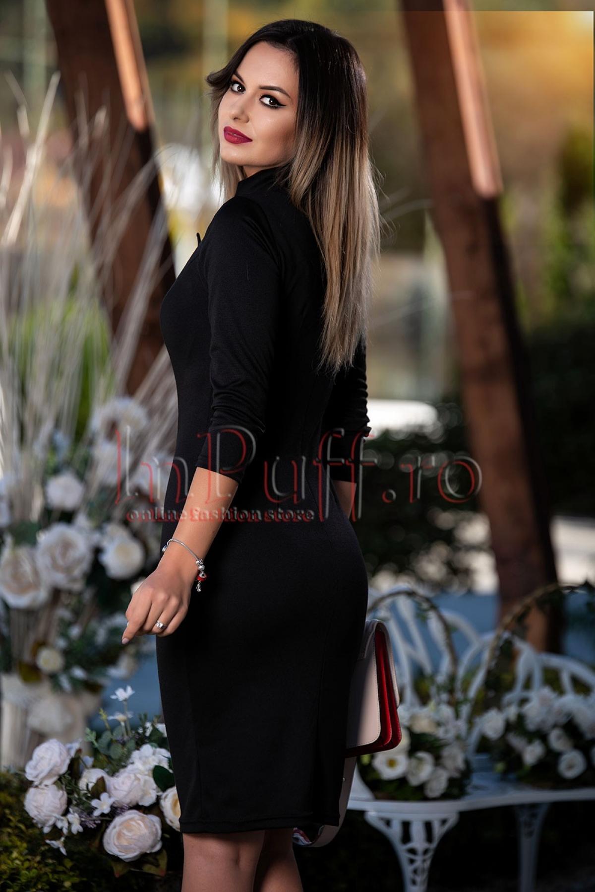 Rochie Pretty Girl neagra