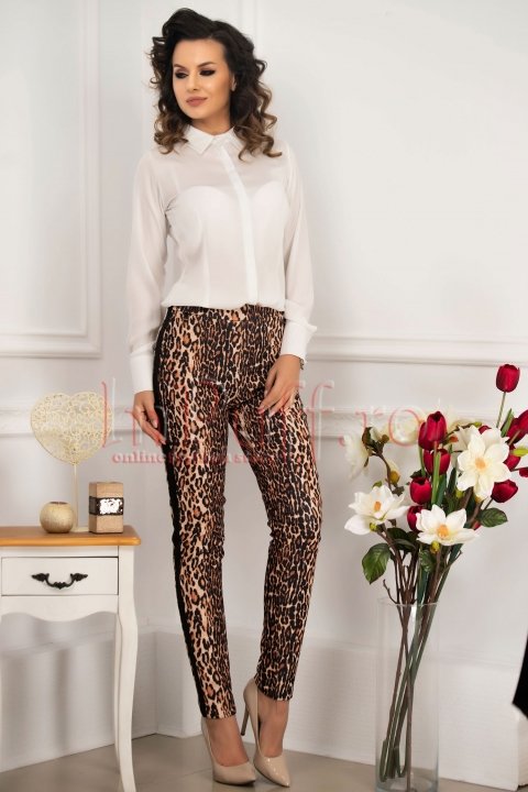 Pantalon animal print dama