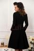 Rochie eleganta MBG din stofa neagra
