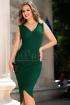 Rochie de seara verde cu sclipici petrecuta