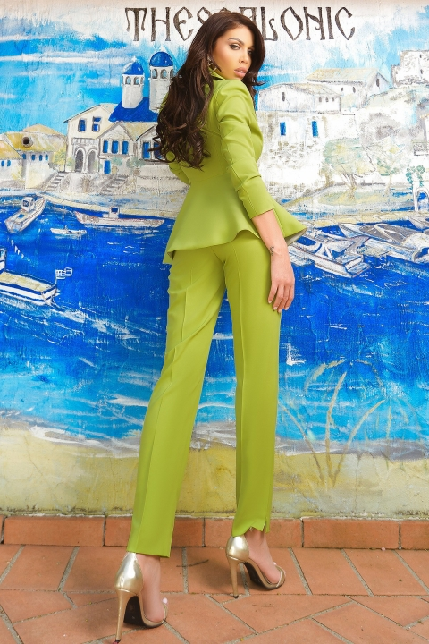 Compleu elegant verde lime Atmosphere