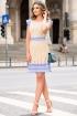 Rochie eleganta de zi Moze cu buline