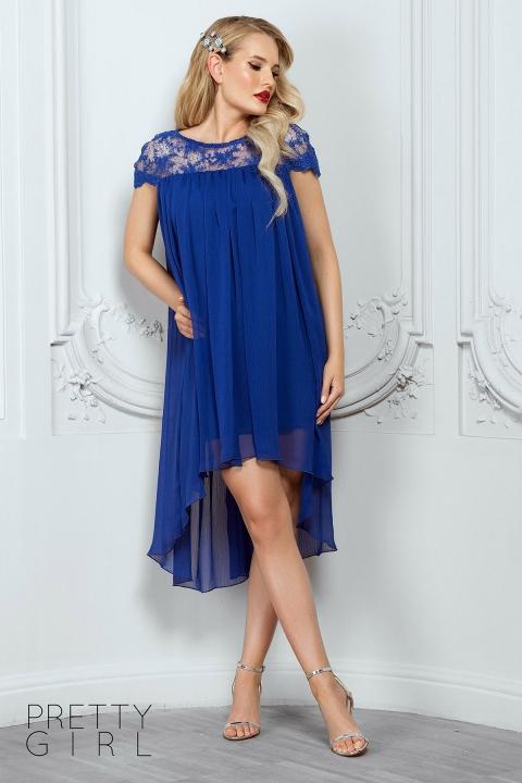Rochie eleganta de seara din voal