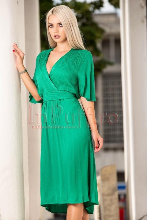 Rochie eleganta de vara verde