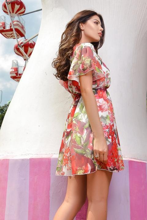 Rochie de vara Atmosphere cu imprimeu floral