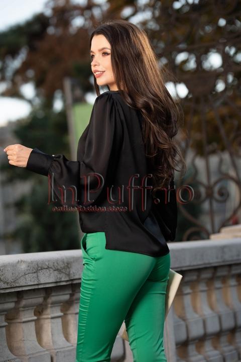 Bluza eleganta cu maneca lunga