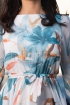 Rochie din voal cu imprimeu Fofy