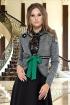 Jacheta Venezia cu cordon verde