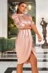 Rochie eleganta rose Atmosphere