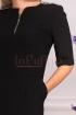 Rochie de zi office neagra Moze