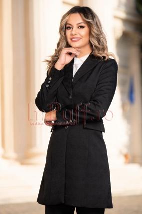Jacheta subtire de dama neagra