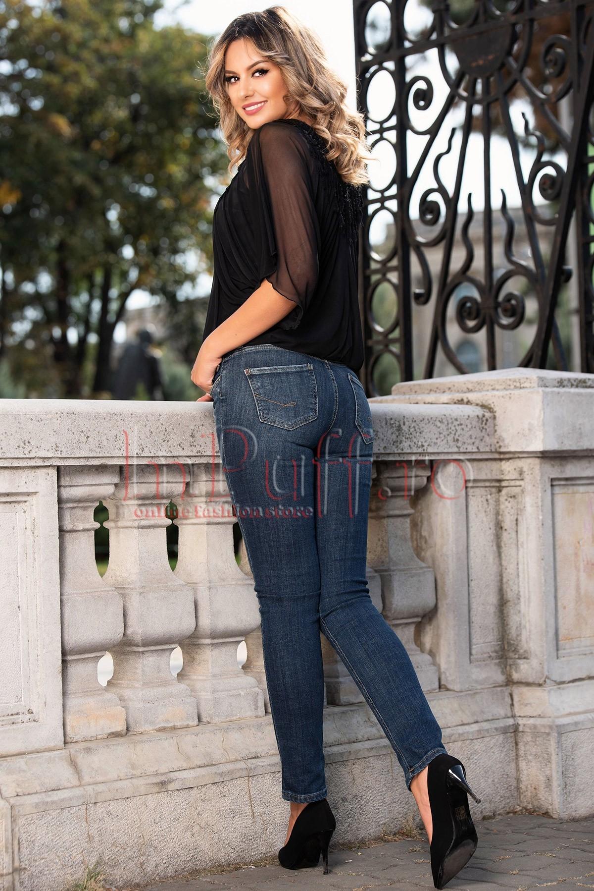 Blugi de dama skinny
