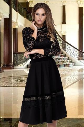 Bluza eleganta din dantela neagra