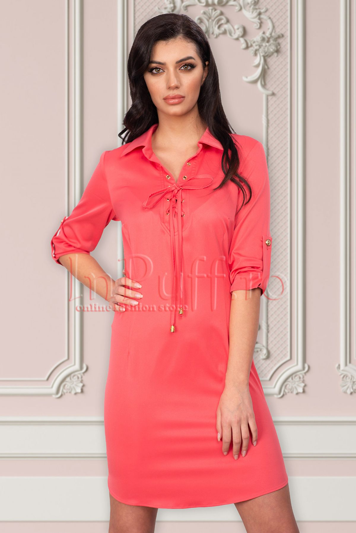 Rochie Atmosphere casual roz