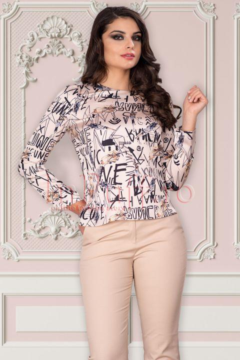 Bluza Hermosa de zi cu imprimeu fashion