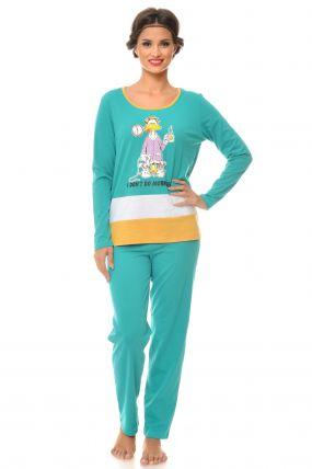 Pijama lejera verde Donald