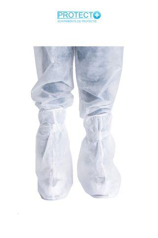 Set 10 perechi botosei textili din TNT tip cizma