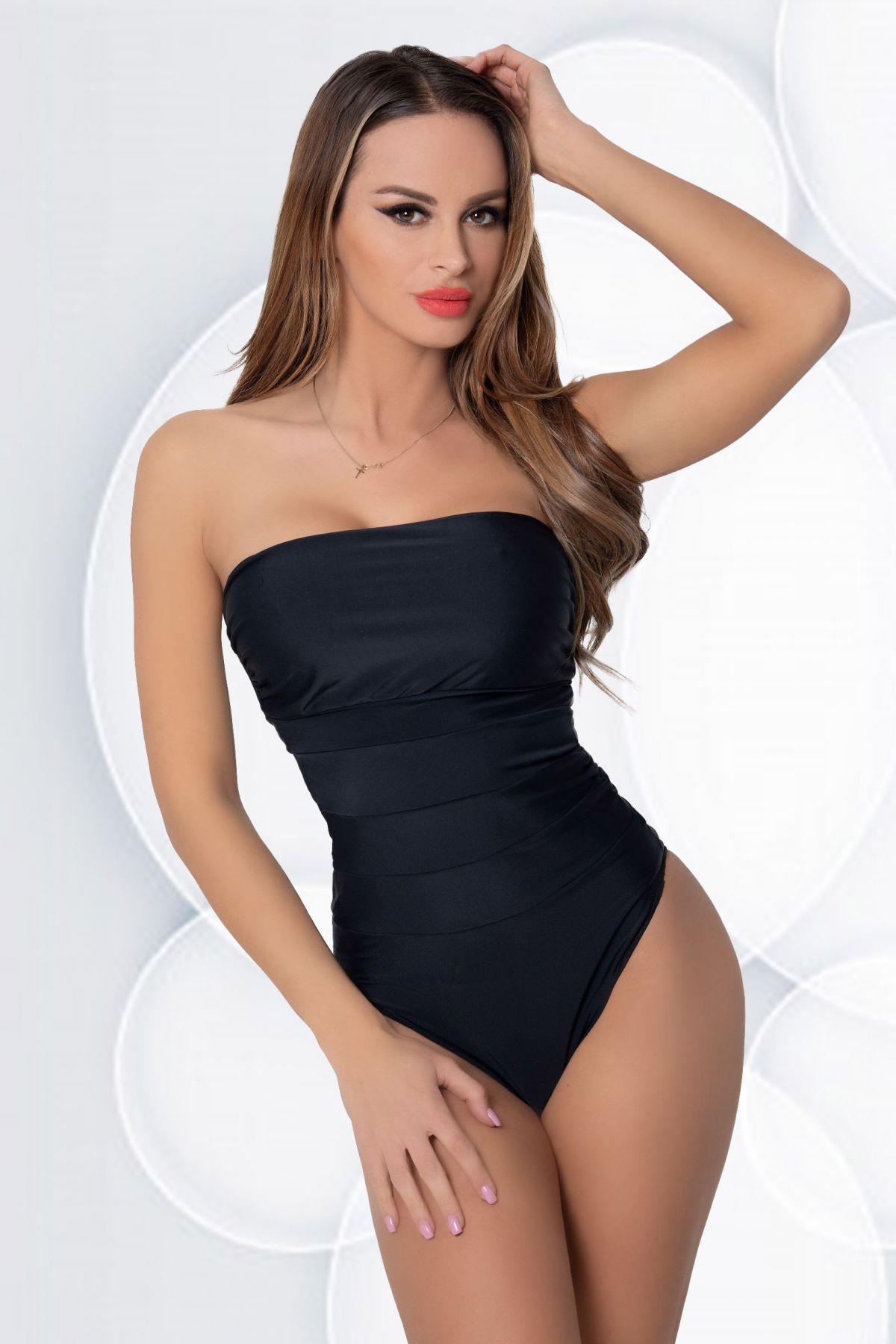 Costum de baie premium Marabella negru