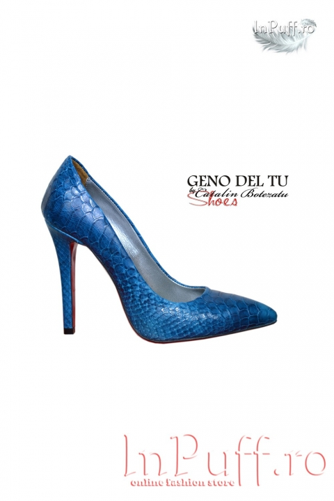 Pantofi Stiletto  din piele naturala by Catalin Botezatu
