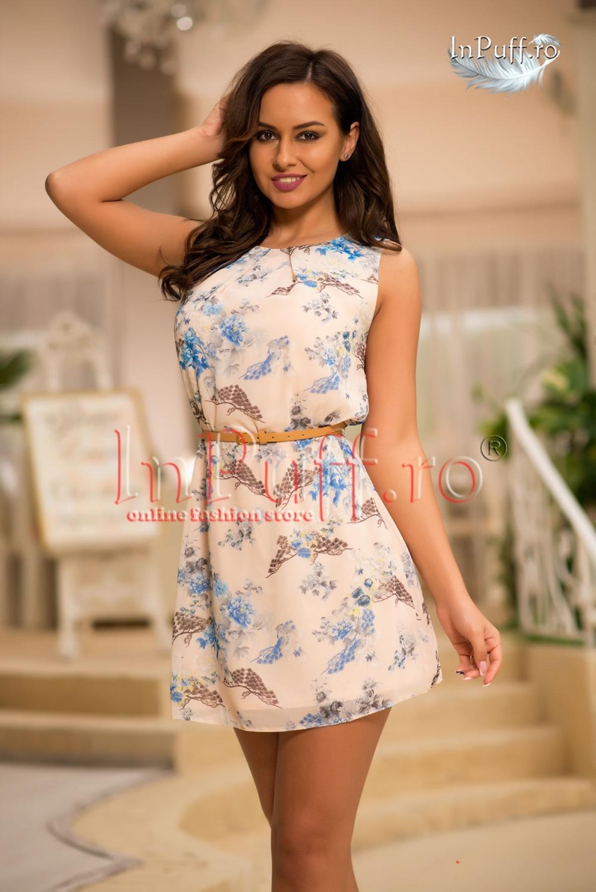 Rochie de vara imprimeu floral