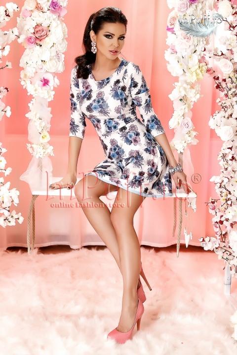 Rochie scurta imprimeu floral